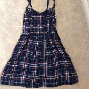 Abercrombie and Fitch plaid dress